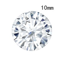 Charles Colvard Forever One New Style Of Synthetic moissanite Gemstone Round Brilliant Cut