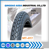 Popular sizes motorcycle tire 2.50-18