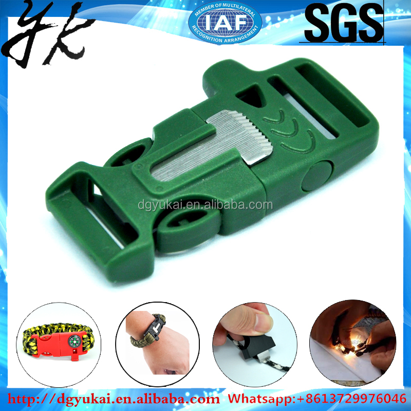Wholesale metal/plastic dog collar buckle for pet product