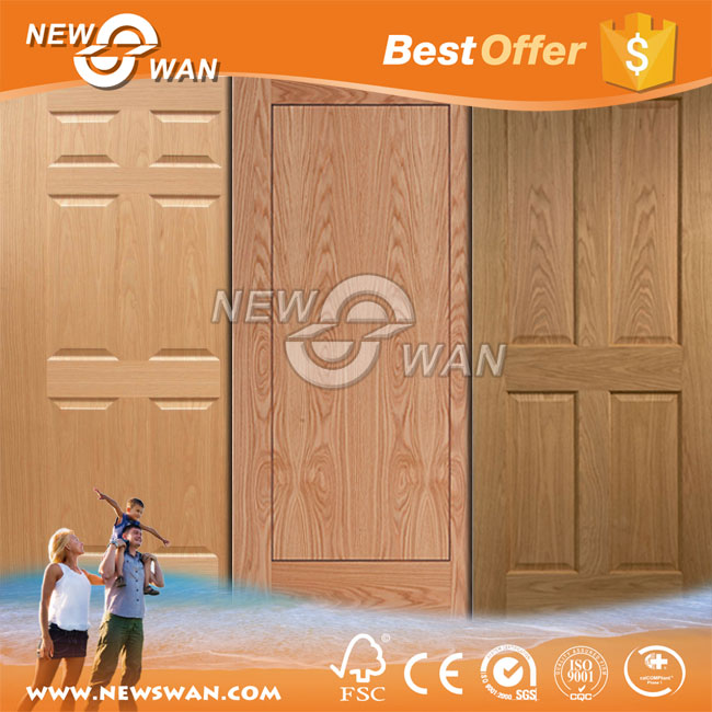 China Interior Solid Wooden Doors / Solid Core Veneer Door