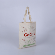 Brand new cheap stock fine canvas shopping bags made in China