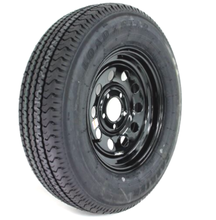 Trailer tire and wheel rim package