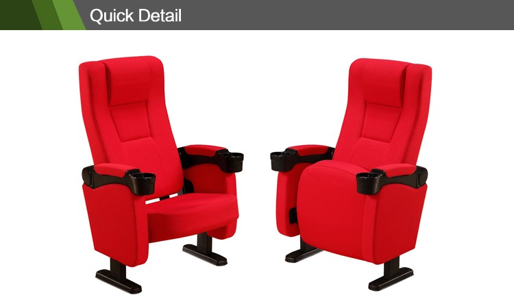fabric cinema theater cinema seat theater style seating MP-17