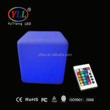 waterproof led cube chair lighting
