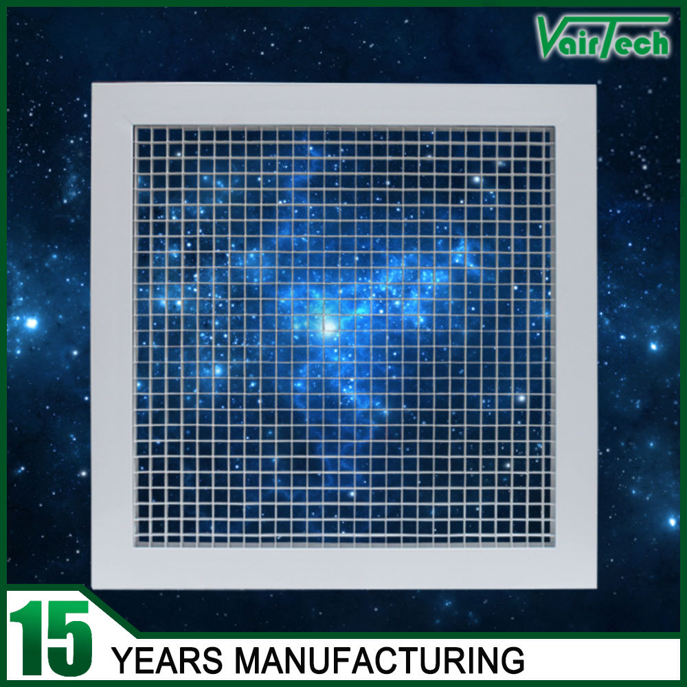Metal Egg Crate Grille : Hvac system ceiling eggcrate return air grille diffusers