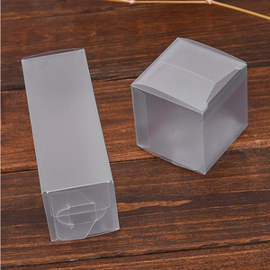 Custom packaging box, transparent plastic box, plastic gift box