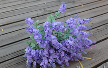 10 heads wedding flower artificial flower wholesale dried lavender flowers plant