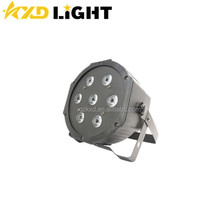 KXD Stage Light CE & RoHs Certificate Professional 7x10W RGBW 4-IN-1 10W RGBW Led Par Light Led Stage Par Lighting
