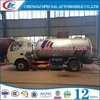 Nigeria Friendly 2.5MT LPG Truck 5m3 LPG Rigid Truck for Africa