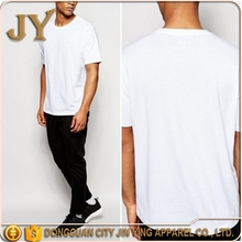 American Europe Style Oversized T-shirts White T-shirts Cotton White Tees for Men Jin Ying Factory