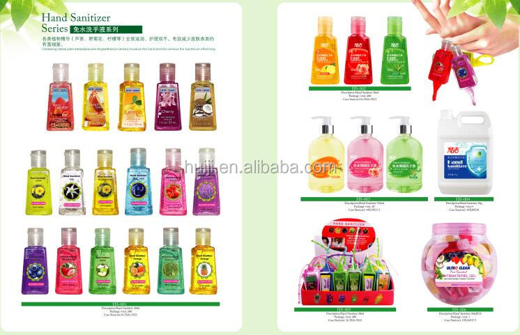 wholesale alcohol mini travel waterless free antibacterial instant hand gel sanitizer