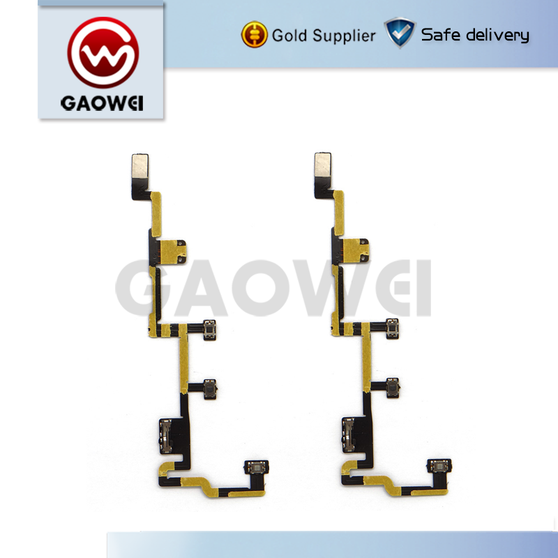 Mobile phone replacement Power Control Flex Repair For Ipad 2 Full Power On/off Flex cable