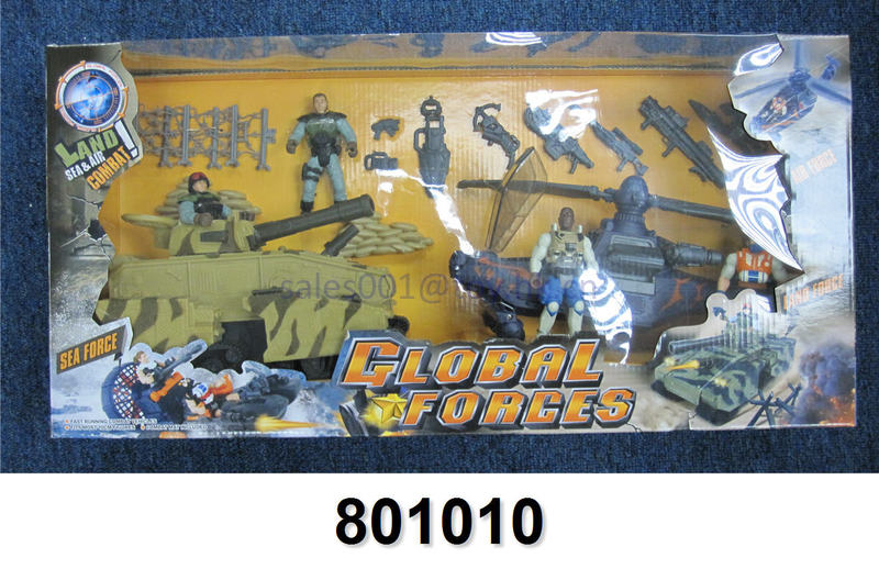boys gift army soldier guns tank fighter mould
