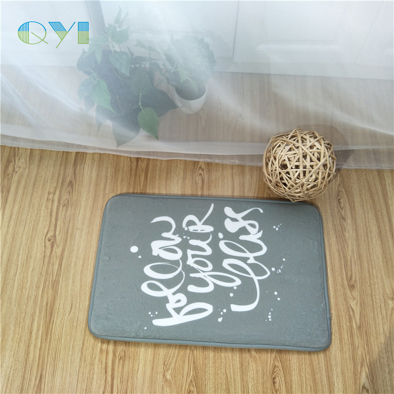 Professional Home Absorbent Welcome Mat for Wholesales