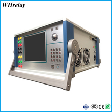 480mm*360mm*200mm Secondary Current Injection Test Set/ Six Phase Relay Protection Tester