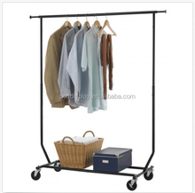 Factory price retail trade removable steel clothing display racks for clothing
