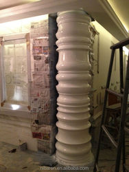 High Quality Fiberglass Roman Column Pillar