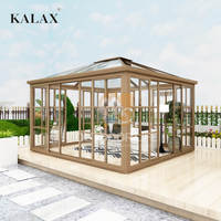 New design Aluminum alloy frame portable sunroom with Polycarbonate.