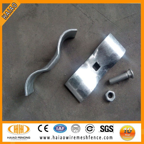 galvanized pipe fence clamps