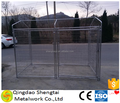 standard Large outdoor galvanised chain link pet enclosure/dog kennels & dog cage & dog runs
