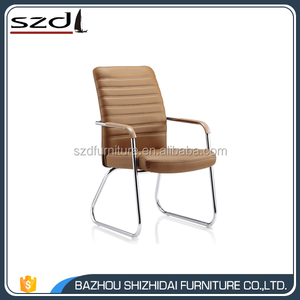 Low Price Popular leather Visitor Chair meeting chair SD-8