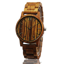 Wholesale china wooden watches man wood bracelet odm men watch
