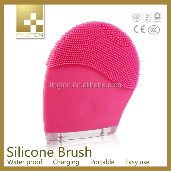 As seen on TV New Waterproof Vibrators Sonic blackhead remover facial cleansing silicone brush