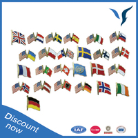 Different Kinds of National Flags Country Flag Pins USA Cross Flags