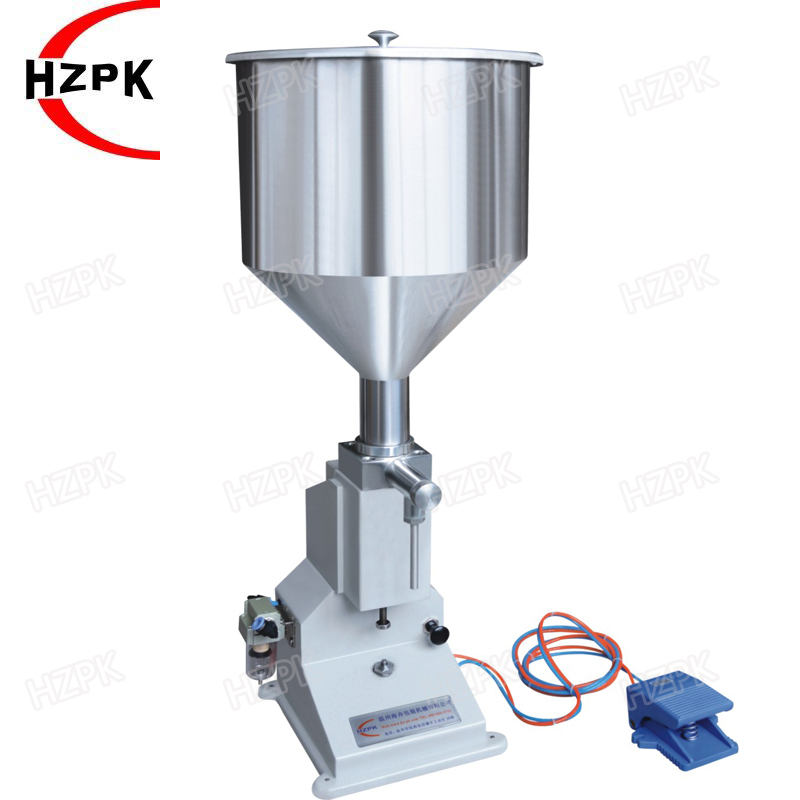 <strong>A02</strong> Pneumatic Filling Machine/Paste Filler 5-65ML