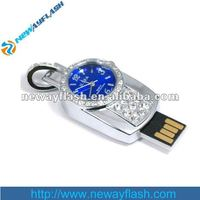 Alarm clock shape usb flash drive waterproof shockproof