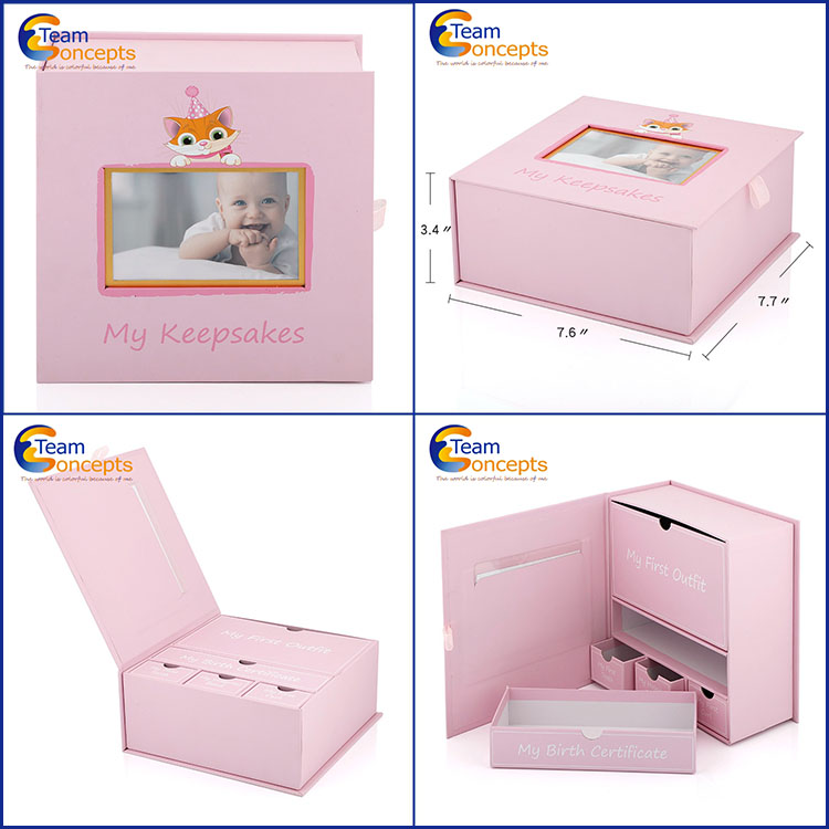 Baby Tooth Keepsake Gift Box