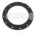 EPDM Black Peroxide Cured Rubber Gasket/Washer