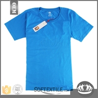 softextile factory price good quality dri fit 100% polyester sports t shirt /gym quick dry cheap t shirt