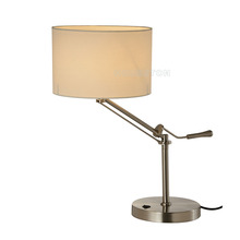 Hot selling metal study bed side hotel table lamp for living room