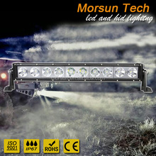 "20"" 22"" single row light bar curved 4x4 , off road led lightbar,10w offroad led light bar"