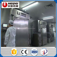 Commercial meat smoking machine for sausage equipment