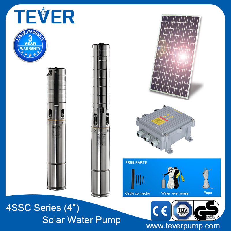 "4 ""stainless steel high-lift centrifuga ac/dc solar submersible pump"