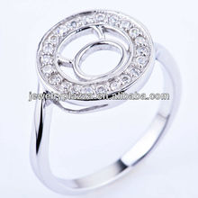 2013 fashion 925 sterling silver jewelry of cow ring RH-T0039-J