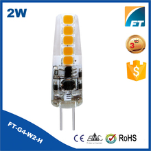Professional manufacturer 340 degree AC220V 2W g4 led light