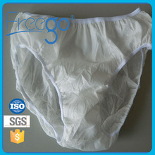 Wholesale Men disposable boxer briefs white for travel use