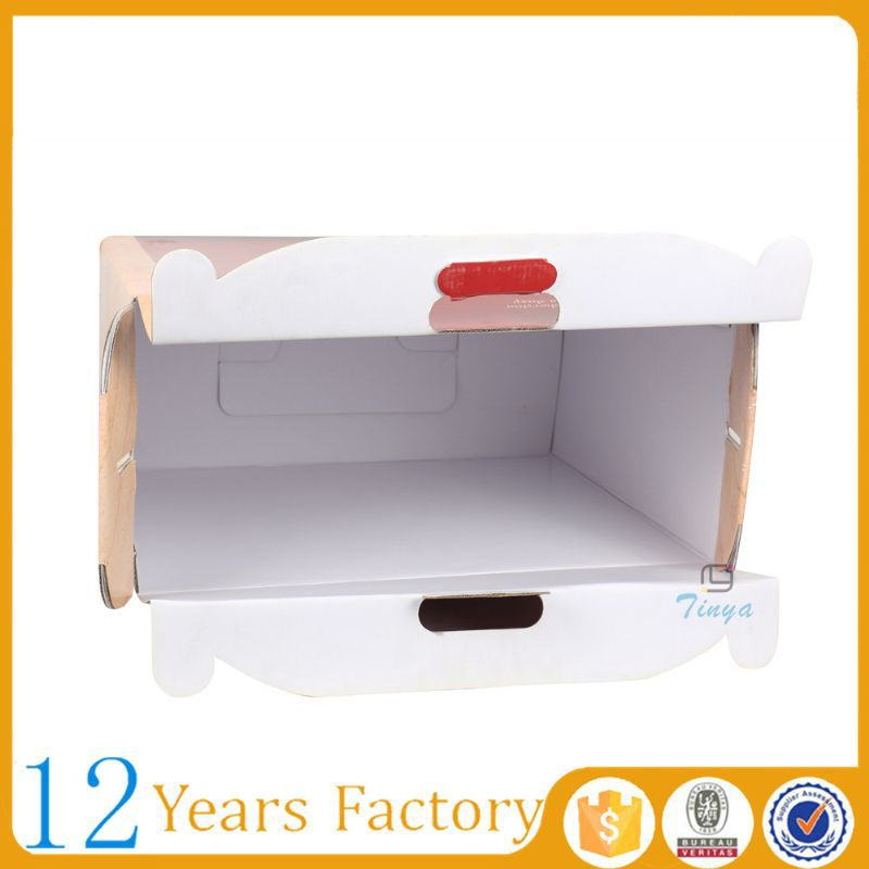 handle cardboard corrugated boxes decorative