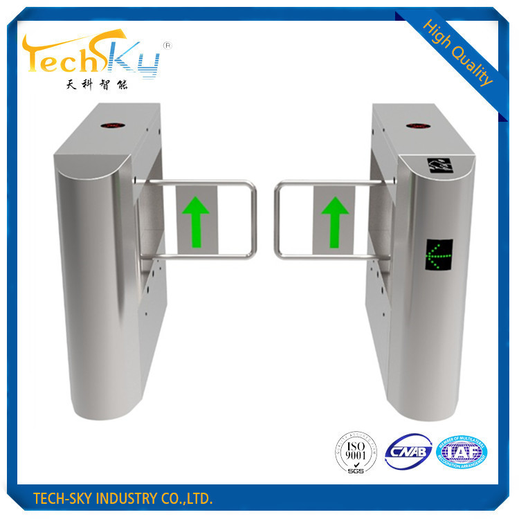 adopted imoprt 304 stainless steel access control electronic turnstile with reasonable price