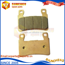 Motorcycle Parts High performance non asbestos brake pad gs125