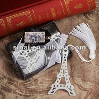 Wedding Favors Paris with Love Collection Eiffel Tower Bookmark