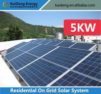 2014 New Design Solar Panel Kit System, 5KW Solar Home System, Solar Cell Systems