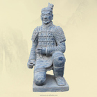 Antique terracotta warriors replica of qin army