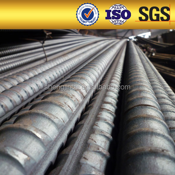 Screw thread steel rebar/Steel bar/Iron Rod for Building/Bridge Concrete Construction