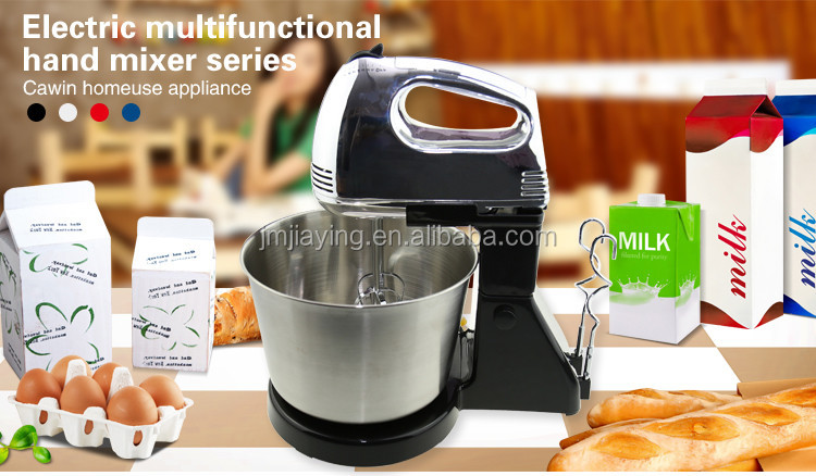 High Quality Stainless Steel Bowl Electric Food Mixer