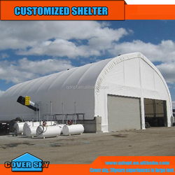 6x6m Dome Container Housing used as workshop