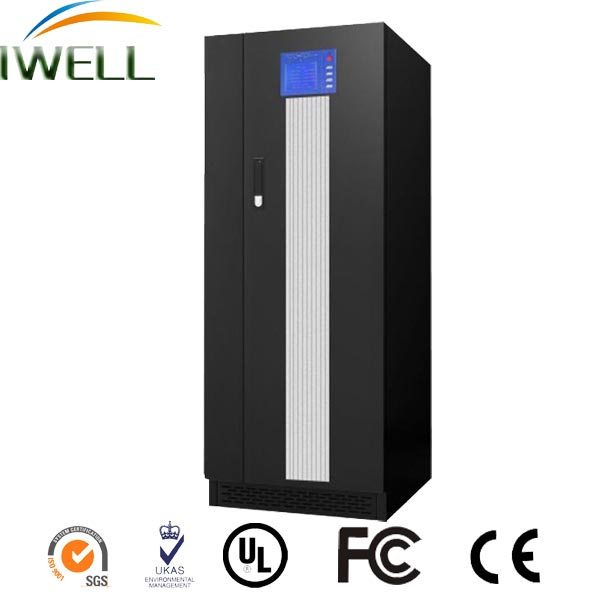 LCD Monitor UPS 60KVA uninterrupted power system 3 phase AC Power Source
